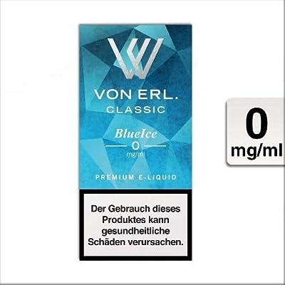 E-Liquid VON ERL. Classic BlueIce nikotinfrei Flasche 10 ml von VON ERL. GmbH
