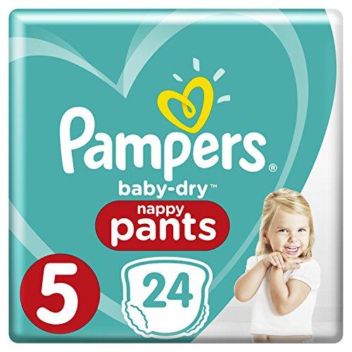Pampers Baby Dry Pants Gr.5 Junior 12-17kg Sparpack