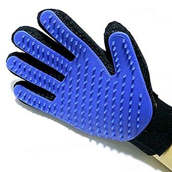 Pet Dog Grooming Glove - PetSinc réel tactile Chien Chat deShedding Hair Remover Brosse pour Toilettage Chien Chat doux et efficace