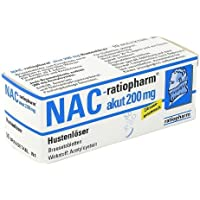 NAC ratiopharm akut 200 mg Hustenlöser Brau 10 St preisvergleich bei billige-tabletten.eu