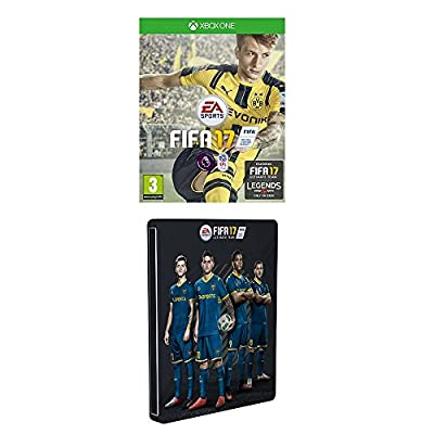 FIFA 17 - Standard Steelbook Edition (Exclusive to Amazon.co.uk) (Xbox One)