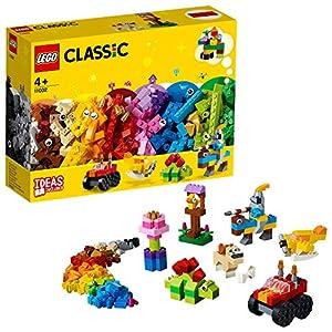 LEGO 11002 Set di Mattoncini di Base, 300 Pezzi per Creare e dar Vita alla tua Fantasia, Fai partire la tua Immaginazione con 3 Livelli di Complessità; idea Regalo per Bambini dai 4 Anni LEGO Classic LEGO