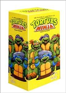 Coffret Tortues Ninja 3 VHS - Vol.2 : Le Sabre de Yurikawa / Le Pays du combat / La Vengeance du Serpent / La Légende de Koji / La Planète des tortues droïdes 1 / La Planète des tortues droïdes 2