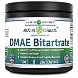 Amazing Nutrition DMAE Bitartrate Dietary Supplement- 100 grams,*Supports...