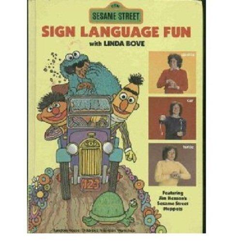 Sesame Street, Sign Language Fun by Sesame Street (1980) Hardcover (Street Sign Star)