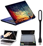 Imagination Era 4-in-1 Accessories Kit for 14-inch Laptops Decal | Screen Guard | Silicone Keyboard Protector | and USB...