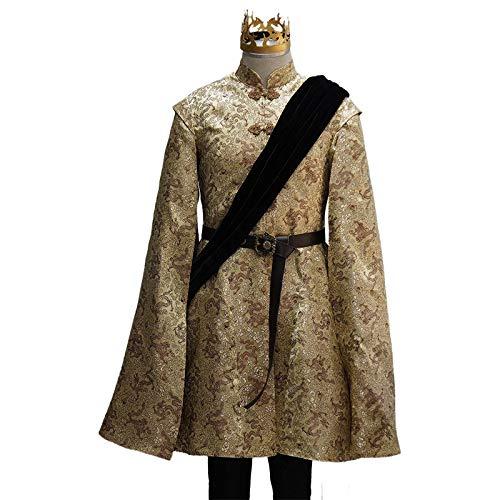 Joffrey Thrones Game Kostüm Of - Manfu Game of Thrones Joffrey Baratheon Outfit Cosplay Kostüm Herren L
