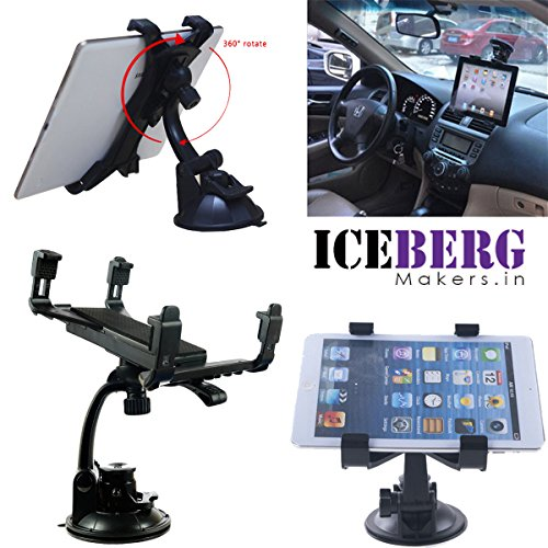 Iceberg Makers.In Car Windshield Mount Holder Suction Stand Cradle For iPad Galaxy 7'-10' Tablet