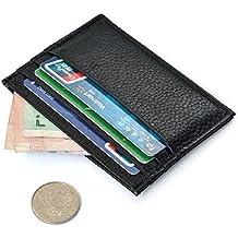 Portafoglio, Amison Lusso Slim Credito Carta Titolare Mini Portafoglio ID Caso Borsa Borsa Sacchetto (Portafoglio Compatto)