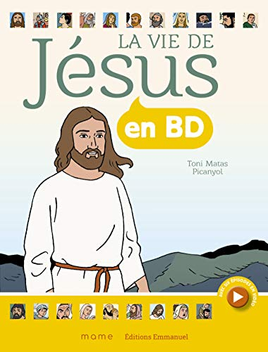 La Vie de Jesus en BD - Broche