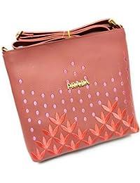Simple Casual Women Soft Sling Handbag Female Shoulder Bag Messenger Bag