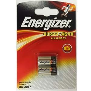 Energizer A544 4LR44 4G13 L1325 6V Alkaline Batteries Twin-pack