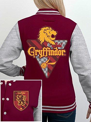 Harry potter casa Gryffindor–Sudadera hombre, Harry Potter - House Gryffindor, multicolor