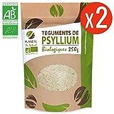 Psyllium Bio AB - 500g (Blond Téguments) 2 sachets de 250g