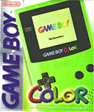 Game Boy - Gerät Color Neongrün