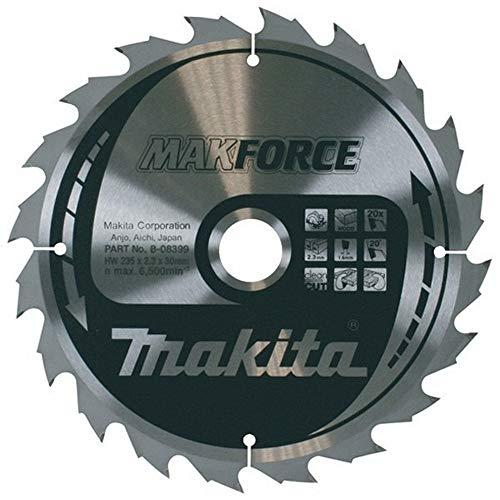 makita-b-08274Festplatte 355Säge Makforce x 3mm 20Felge 2,224Z Achse von 30Grad