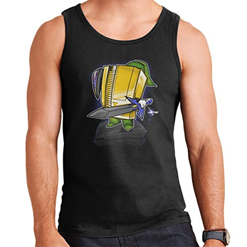 NES Console 8Bit Hero Men's Vest Black