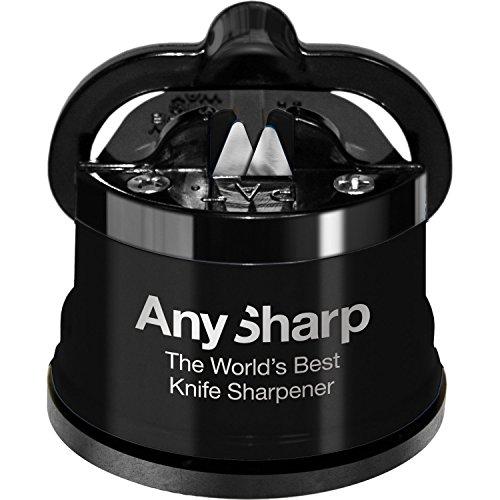 AnySharp Afilador De Cuchillos (Negro)