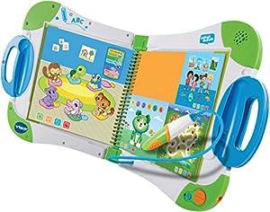 VTech - Sistema de aprendizaje interactivo, MagiBook, color verde (versión en holandés)