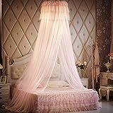 Unimall Mosquitara Decorativa de la Cama de Encaje, Mosquitera Anti-insectos Dormitorio para Cama Princesa, Malla de Full