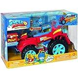 SuperZings - PlaySet Héroe Truck (PSZSP112IN20) con Vehículo y 2 Figuras Especiales