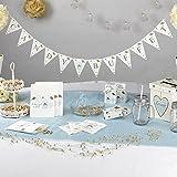 New Shabby Chic zu haben und zu halten Hochzeit Candy Buffet Wimpelkette Dekoration