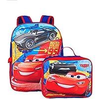 Preisvergleich für Cars Disney Pixar Jackson & Lightning McQueen 40,6cm Rucksack w/Abnehmbare Lunchbox