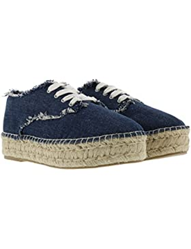 STEVE MADDEN STRINGATE SPORTIVE PHRAY DENIM 36,5