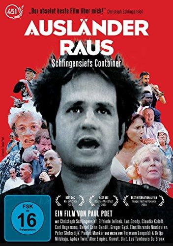 Ausländer Raus! Schlingensiefs Container - Special-Edition-DVD (rest. Fassung, viele neue Extras & UT)