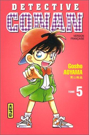 Detective Conan Tome 5 - Détective Conan, tome