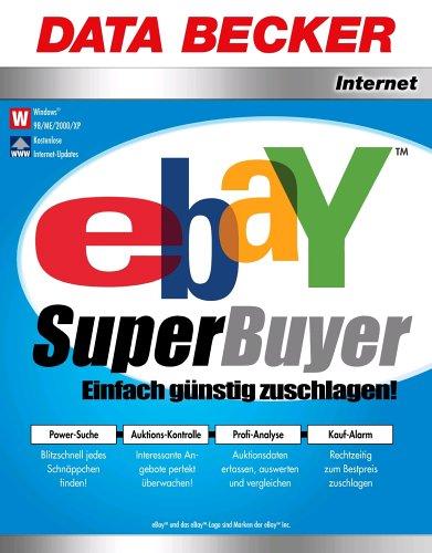 Ebay SuperBuyer, 1 CD-ROM Einfach günstig zuschlagen! Power-Suche: Blitzschnell jedes Schnäppchen finden! Auktions-Kontrolle: Interessante Angebote perfekt überwachen! Profi-Analyse: Auktionsdaten, auswerten und vergleichen. Kauf