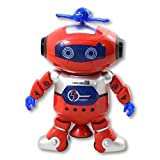 LEZO Smart Technology Robot Dansant avec de la Musique et des Lumières pour Enfants....
