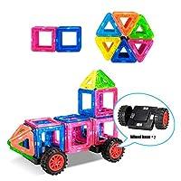 Magnetische-Bausteine-38-Stck-Magnetische-Baukltze-Set-Kinder-Pdagogische-Spielzeug-mit-Rder-Magnetspielzeug-Geschenk-fr-Jungen-und-Mdchen-ber-3-Jahre-alt