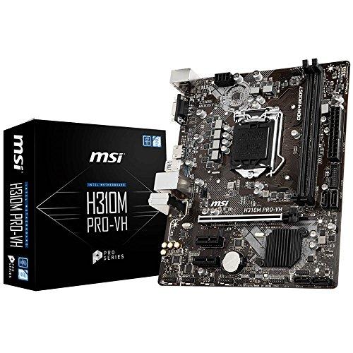MSI H310M Pro-VH 7b33–001R scheda madre NERO