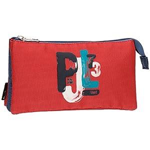 Pepe Jeans James Neceser de Viaje, 22 cm, 1.32 litros, Multicolor