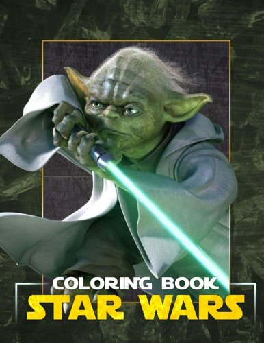 Star Wars Coloring Book: Great Coloring Pages for Kids and Adults