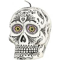 Horror-Shop Día del cráneo muerto del azúcar Vela