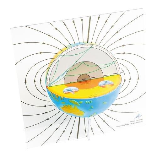 3B Scientific U70010 Erdschichtenmodell mit seismischen Wellen
