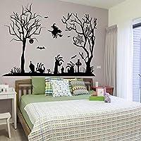 Xue Halloween Wand Decal, Schlafzimmer, Wohnzimmer, PVC, Abnehmbare, Kunst-Dekor, Tapeten, Wandgemälde, Aufkleber