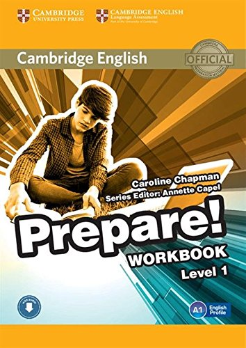 Cambridge English Prepare! Level 1 Workbook with Audio