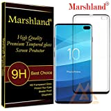 Marshland New Front Screen Guard Flexible Anti Bubble Screen Guard Compatible with Samsung Galaxy S10 Plus (Black)