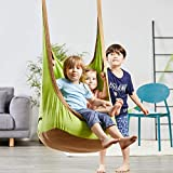 happypie Rana appesa Pod Swing Seat Indoor e Outdoor Amaca per Bambini da Adulto