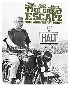 The Great Escape - Limited Edition Steelbook [Blu-ray] [1963] [Region Free]
