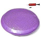 Cuscino per Lo Yoga Cuscino per l'equilibrio Cuscino per l'equilibrio Cuscino per Il Pilates Cuscino per Il Sedile(Porpora)