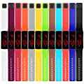 Taffstyle Unisex Armbanduhr Digitale Sportuhr Silikonuhr mit LED Damen Herren Digital Sport Silikon Uhr
