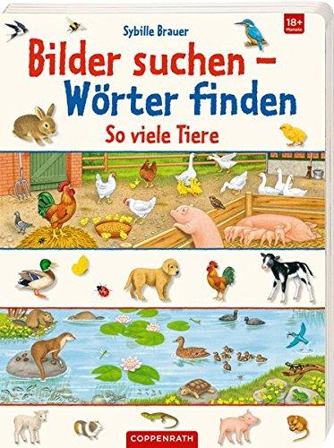 So viele Tiere (Bilder suchen - Wörter finden)