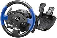 ThrustMaster T150 Force Feedback Wheel 1080 ° to force feedback for PS4, PS3 and PC Compatible with Sebastien