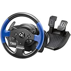 Thrustmaster T150 Force Feedback - Volant 1080° à Retour de Force - PS4/PS3/PC