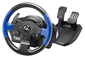 Thrustmaster T150 Force Feedback – Volant 1080° à Retour de Force - PS4/PS3/PC