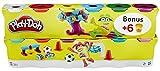 Play-Doh - B6751eu40 - Pack de 6 pots de Pate + 6 pots gratuits